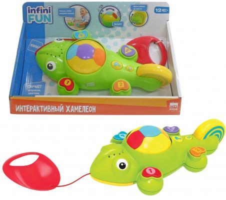 Интерактивная игрушка 1Toy Хамелеон от 12 месяцев зелёный Т10505