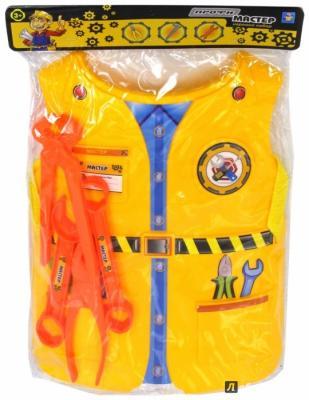 Игровой набор 1toy костюм Мастер 4 предмета 1 toy игровой набор в чемоданчике мастер шеф барбекю 23 предмета
