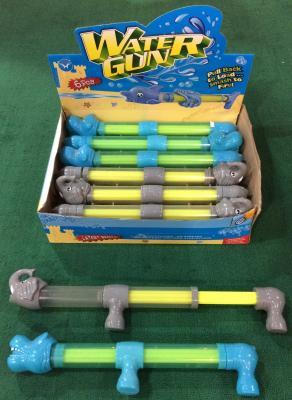 Водяная помпа 1TOY Аквамания - Слон. Бегемот желтый синий зеленый Т59464 цена