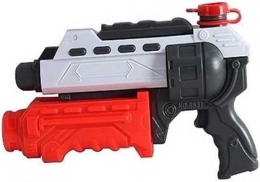 Водный пистолет 1TOY Аквамания красный белый черный Т59454 водный пистолет тилибом с помпой 45см красный для мальчика