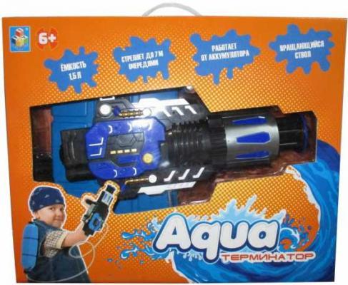 Водяной автомат 1TOY Аквамания черный синий Т12465 цена