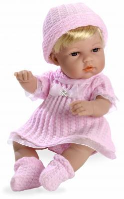 Купить Arias ELEGANCE кукла винил. 33 см с кристалл.SWAROWSKI, в одежде роз., в кор 20*12*35 см., пластик, текстиль, Классические куклы и пупсы