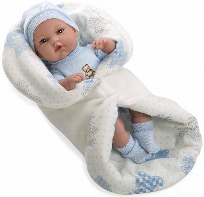 Купить Пупс Arias Elegance в голубой одежде 33 см Т11090, винил, текстиль, пластик, Классические куклы и пупсы