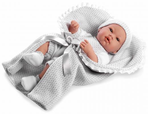 Купить Пупс Arias Elegance с соской и белым конвертом 42 см Т11099, пластик, текстиль, Классические куклы и пупсы
