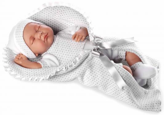 Пупс Arias Elegance в белой одежде 45 см со звуком Т11104 пупс arias elegance 45 см т11120