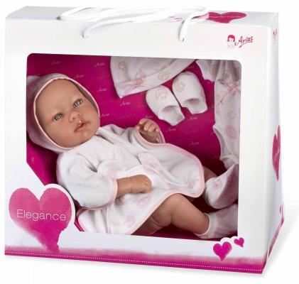 Пупс Arias Elegance с дополнительным комплектом одежды 42 см Т11109 пупс интерактивный arias elegance с одеялом