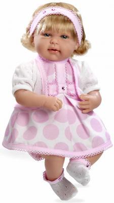 Кукла Arias Elegance в розовом платье 45 см Т11133 arias кукла arias 28 см в розовом платье и шапочке с соской