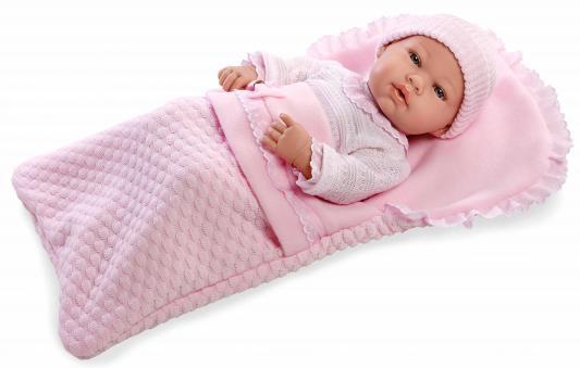 Купить Пупс Arias Elegance в одежде, с соской и конвертом 42 см Т11098, пластик, текстиль, Классические куклы и пупсы