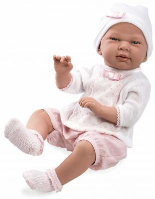 Купить Пупс Arias Elegance, в розовой одежде 52 см Т11123, пластик, текстиль, Классические куклы и пупсы
