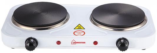 Электроплитка Homestar HS-1104W белый электроплитка tristar kp 6245 белый
