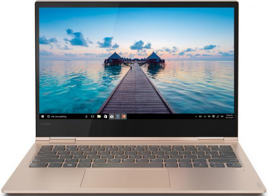 Трансформер Lenovo Yoga 730-13IKB Core i7 8550U/8Gb/SSD256Gb/Intel HD Graphics/13.3/IPS/Touch/FHD (1920x1080)/Windows 10/cuprum/WiFi/BT/Cam ноутбук трансформер lenovo yoga 720 13ikb 80x60056rk