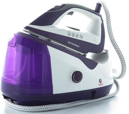 Утюг Grand Master GM-750 2200Вт фиолетовый белый кронштейн крюк желоба grand line 210 мм белый металлический