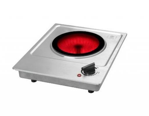 Плитка электрическая RICCI RIС-102 инфракрасная настольная 1 конф электрическая настольная плитка jarkoff jk 7222w 60976