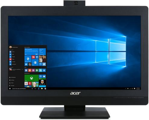 ACER Veriton Z4640G All-In-One 21,5 FHD(1920x1080), i3 7100, 4GbDDR4, 1TB/7200, Intel HD, DVD-RW, WiFi+BT, COM, USB KB&Mouse, black, Win10Pro 3Y OS acer aspire c22 860 all in one 21 5 fhd 1920x1080 i5 7200u 4gbddr4 1tb 5400 intel hd nodvd rw wifi bt usb kb