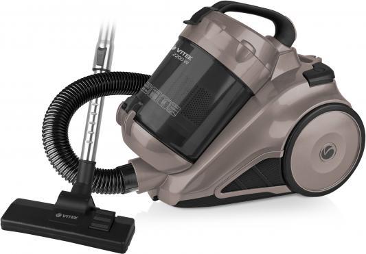 Пылесос Vitek VT-8109 сухая уборка серый чёрный