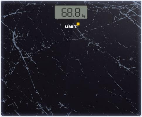 Весы напольные Unit UBS-2058 чёрный