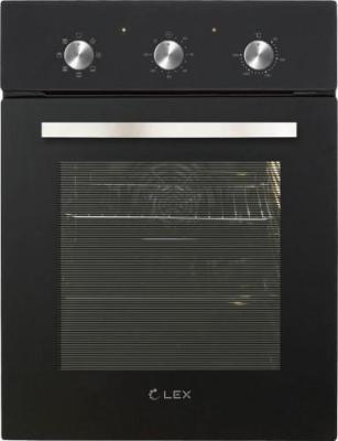 Духовой шкаф LEX EDM 4570 BL 55 л, таймер, 7 функций встраиваемый электрический духовой шкаф lex edm 4570 bl