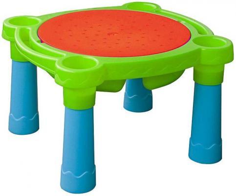 Стол- Песок-Вода детский игровой (голубой, красный. Салатовый)