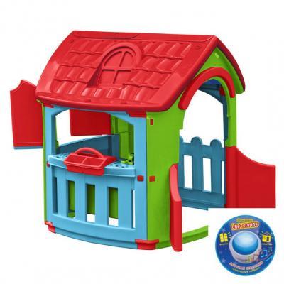 Игровой домик Marian Plast Домик - Гараж 6641