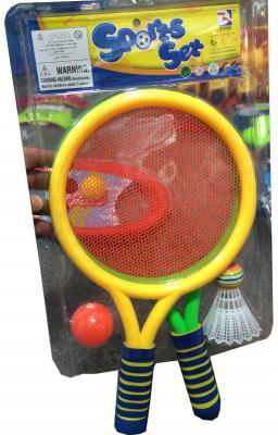 Набор для игры 1toy бадминтон Sports Т59928