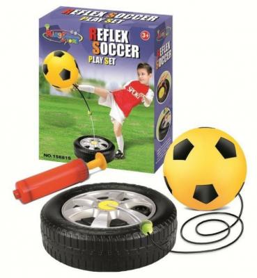 1toy набор для игры в футбол, база, мяч (20 см), насос, коробка, 26,3х8,5х31,5 см цены