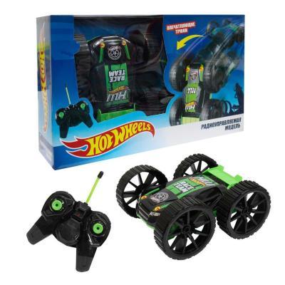 Машинка на радиоуправлении 1toy Hot Wheels пластик от 3 лет черно-зеленый Т10978