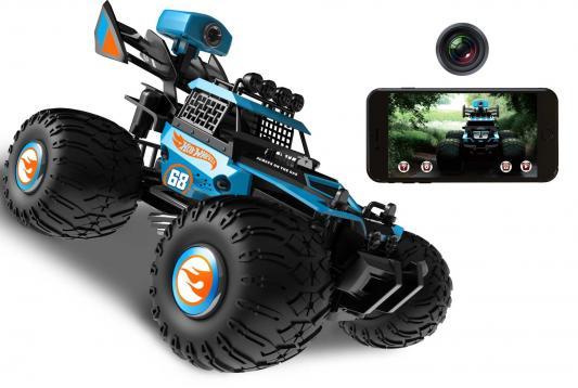 Машина 1toy Багги Big Wheels пластик синий Т11571
