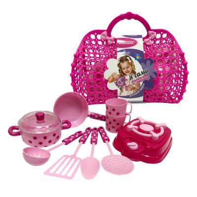 Набор посуды для кукол 1toy маленькая хозяюшка игровой набор 1toy маленькая хозяюшка