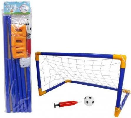Набор для игры 1toy футбол футбольные ворота т59934 панель схема игры в футбол