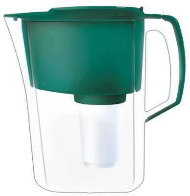 Кувшин Аквафор Атлант темно-зеленый кувшин аквафор прованс р140 a 05 fm белый