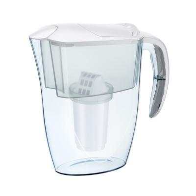 Кувшин Аквафор Смайл белый зеркало с фацетом в багетной раме поворотное evoform exclusive 80x110 см виньетка серебро 109 мм by 3478