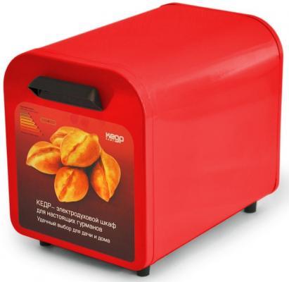 Шкаф жарочный Кедр ШЖ-0,625 красный цена и фото