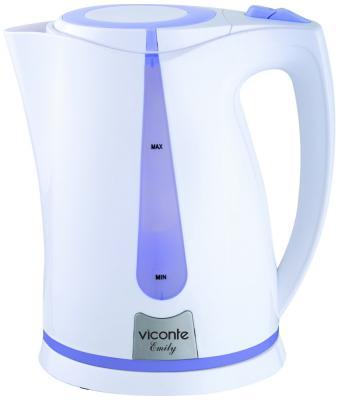 Чайник Viconte VC-3264 белый/фиолетовый viconte vc 4406 белый