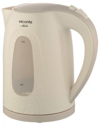 Чайник Viconte VC-3269 кремовый чайник viconte vc 3264