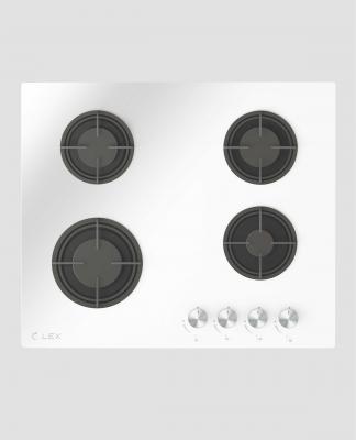 Панель варочная LEX GVG 641 WH газовая 1000-3000Вт 4конфорки