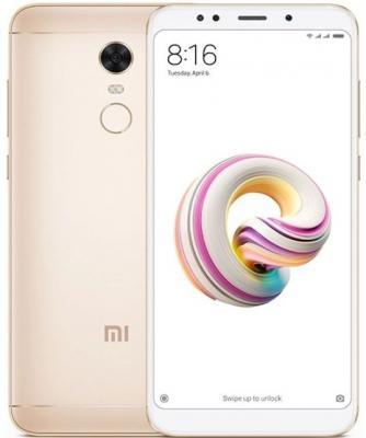 Смартфон Xiaomi Redmi 5 Plus золотистый 5.99 64 Гб LTE Wi-Fi GPS 3G из ремонта смартфон meizu m5c синий 5 16 гб lte wi fi gps 3g