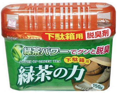 Фото Дезодорант-поглотитель неприятных запахов Kokubo Deodorant Sumi-Ban для обувных шкафов с экстрактом зеленого чая
