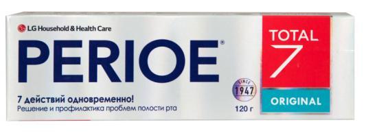 Картинка для Зубная паста Perioe Total 7 Original 120 гр