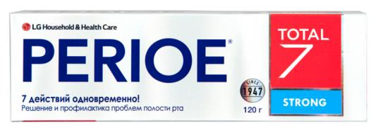 Картинка для Зубная паста Perioe Total 7 Strong 120 гр