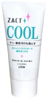 Зубная паста LION Zact Cool 130 гр lionthailand salz habu паста зубная 90 гр