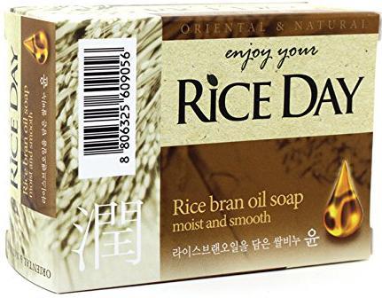 Мыло твердое CJ Lion Rice Day 100 гр