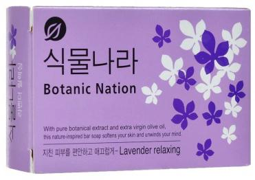 Мыло твердое CJ Lion Botanical Nation 100 гр
