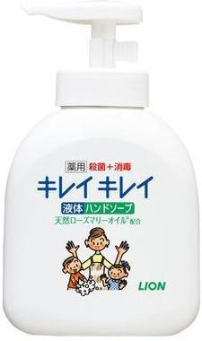 Мыло жидкое LION Kirei Kirei 250 мл dove жидкое крем мыло прикосновение свежести 250 мл