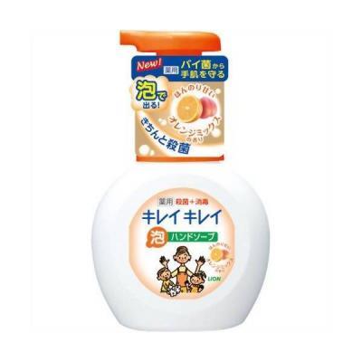 Мыло жидкое LION Kirei Kirei 250 мл с ароматом апельсина dove жидкое крем мыло прикосновение свежести 250 мл
