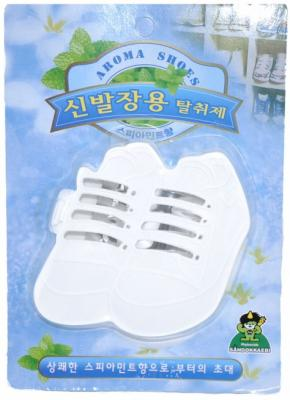 Ароматизатор-поглотитель запаха для обуви Sandokkaebi Мята 4 г средство против запаха и моли для шкафов sandokkaebi лесной 4 г