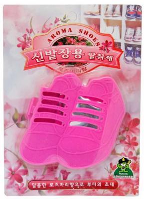 Ароматизатор-поглотитель запаха для обуви Sandokkaebi Розмарин 4 г kokubo поглотитель запаха в гелевых шариках shosyuс запахом персика 150 г