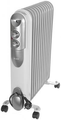 Масляный радиатор Ресанта ОМПТ-12Н 2500 Вт белый