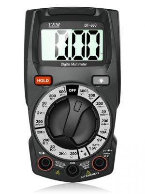 Мультиметр CEM DT-660 мультиметр cem dt 932n цифровой true rms