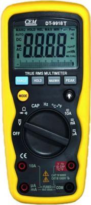 Мультиметр CEM DT-9918T цифровой true rms philips cem
