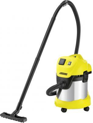 Пылесос Karcher Karcher WD 3 P Premium EU-I сухая уборка жёлтый строительный пылесос karcher wd 3 car желтый